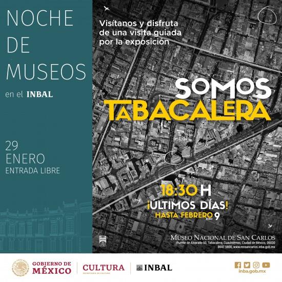 Noche de Museos, recorrido Somos Tabacalera - Imagen