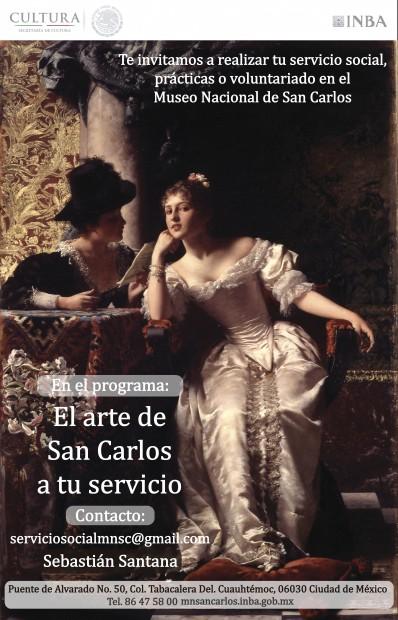 SERVICIO  SOCIAL EN EL MUSEO NACIONAL DE SAN CARLOS  - Imagen