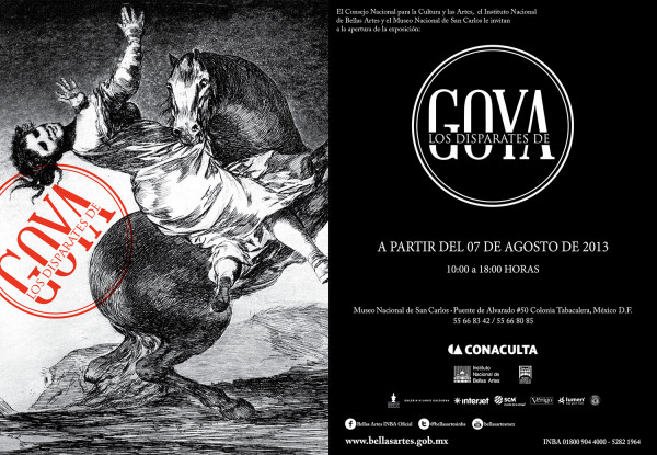 LOS DISPARATES DE GOYA.