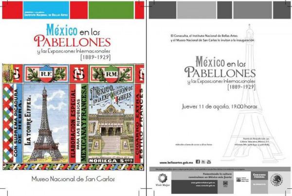 MÉXICO. PABELLONES INTERNACIONALES(1889-1929)